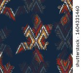seamless colorful pattern with... | Shutterstock . vector #1604331460