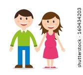 family design over white... | Shutterstock .eps vector #160434203