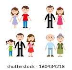 family design over white... | Shutterstock .eps vector #160434218