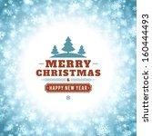 christmas light vector...   Shutterstock .eps vector #160444493