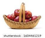 Red Apples Isolated On White...