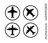 airplane icon set collection....