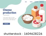 dairy production isometric...