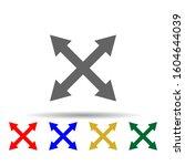 arrow  size multi color style...