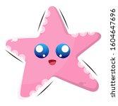 Cute Starfish Mascot Design...