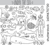 Hand Drawn Under The Sea...