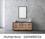 vertical black poster frame...   Shutterstock . vector #1604688226