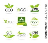 Ecology Icon Set. Eco Icons