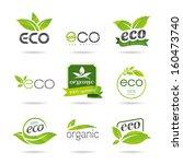 Ecology Icon Set. Eco Icons