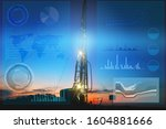 Small photo of automation of oil and gas production to prevent accidental drilling of wells. The use of artificial intelligence to process and store data when drilling wells and finding productive fields
