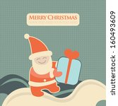 christmas  new year greeting...   Shutterstock .eps vector #160493609