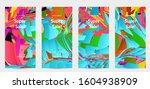 abstract social media template... | Shutterstock .eps vector #1604938909