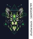 animal vector illustration... | Shutterstock .eps vector #1604958799