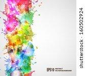 vector blots background   Shutterstock .eps vector #160502924