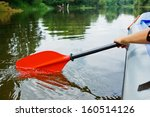 Red Paddles For White Water...