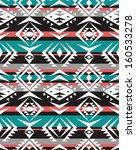 aztec seamless pattern... | Shutterstock .eps vector #160533278