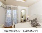 bedroom interior of a luxury...   Shutterstock . vector #160535294