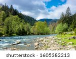 River In Mountains. Wonderful...