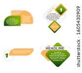 headliner sign. headliner paper ...   Shutterstock .eps vector #1605430909