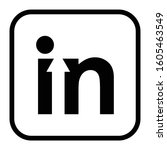 in logo designs creative vector ... | Shutterstock .eps vector #1605463549