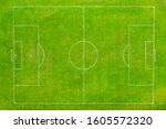 Aerial Shot Football Pitch...
