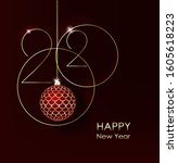 Gold 2020 Happy New Year On...