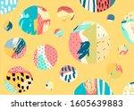 creative doodle hand drawn... | Shutterstock .eps vector #1605639883