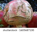 Smiley Face Pomegranate Crack...