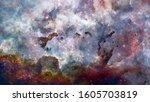 The Eagle Nebula In Deep....