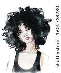 Young Female Brunette Portrait...