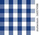 blue plaid pattern | Shutterstock .eps vector #160574588