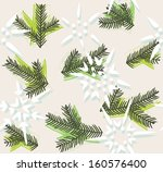 christmas decorative seamless... | Shutterstock .eps vector #160576400