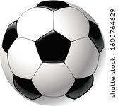 illustration of football  with...   Shutterstock .eps vector #1605764629