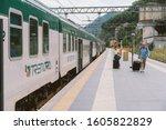 Como Railway Station Arriving...