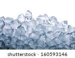 ice cube | Shutterstock . vector #160593146