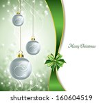 christmas background. abstract... | Shutterstock .eps vector #160604519