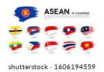aec asean economic community... | Shutterstock .eps vector #1606194559