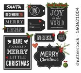 chalkboard style vintage design ...   Shutterstock .eps vector #160621004