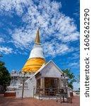 Phra Chedi Luang Or The Royal...
