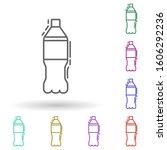 soda bottle dusk multi color...