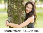 Casual Cheerful Brunette...