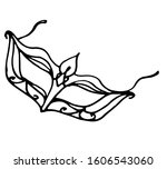 sexy graceful mask for woman ...   Shutterstock .eps vector #1606543060