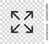 arrows of four directions ...   Shutterstock .eps vector #1606641886
