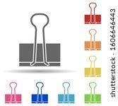 binder clip in multi color...