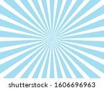 blue sunburst pattern...   Shutterstock .eps vector #1606696963