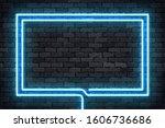 vector realistic isolated neon... | Shutterstock .eps vector #1606736686