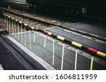 Traffic Image Of Train Crossing