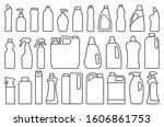 detergent of product line set... | Shutterstock .eps vector #1606861753
