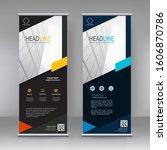 vector vertical banner. banner...   Shutterstock .eps vector #1606870786