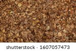 dry leaves background. fallen... | Shutterstock . vector #1607057473